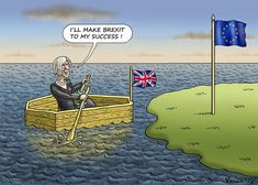 Marian Kamensky (016-06-13) UK)/ Angleterre: THERESA MAY AND HER BREXIT