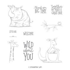 Step Cards, Creature Comforts, Digi Stamps, Baby Cards, Clear Stamps, Happy Mothers Day, Stampin Up Cards, Gift Bags, Cute Animals