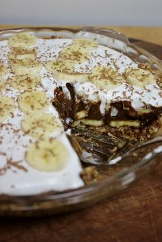 This Rawsome Vegan Life: chocolate banana coconut cream pie