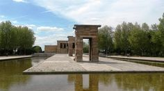 Temple Debod, Madrid (Espagne)