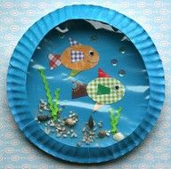 50 summer crafts for kids - Google Search. Port hole art.