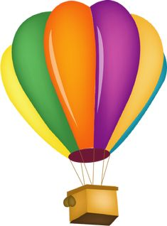 free clip art of a fun rainbow striped hot air balloon sweet clip rh pinterest com clip art images of hot air balloon clipart hot air balloon basket