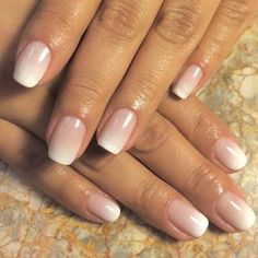 Elegant Bridal Nails - Enchanting Ideas for Your DIY Wedding .- Elegant bridal nails – Enchanting ideas for your DIY wedding manicure On your big day, of course, you want to be even more beautiful and radiant than usual - Fun Nails, Pretty Nails, Gorgeous Nails, Elegant Bridal Nails, Simple Bridal Nails, Bridal Nails French, Bridal Nail Art, French Manicure Designs, French Manicure Ombre