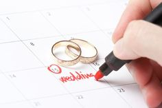 How to Plan a Wedding in One Month. Email invites, think of it as a party you just happen to be getting married at.