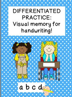 Visual memory orthographic motor integration may be the missing link in your handwriting program  #visualmemory #handwriting  #learningdisabilities #autism #add #adhd #downsyndrome #dyspraxia #dyslexia #visiontherapy #cerebralpalsy  #occupationaltherapy #OT #autism #SPD #schoolot #SLP #fun #sensoryprocessing #sped #spedteacher #empoweringot #therapy #specialneeds #cota #schoolcota #inclusion #rti #mtss #visualmotor #finemotor #activitiesforkids #specialeducation #pediatricot #peds  #sensory