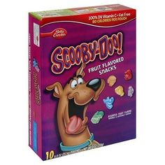 Scooby Doo Fruit Flavored Snacks: There was more than just the Scooby Doo gummies, but here is just an example of my childhood! I loved these. Fruit Snacks, Easy Snacks, Fruit Recipes, Snack Recipes, Scooby Snacks, Scooby Doo Gummies, Fruits For Kids, Kids Fruit, Favorite Candy