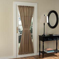Montego Solid Room Darkening Rod Pocket Single Curtain Panel | Patios,  Doors And Fabrics