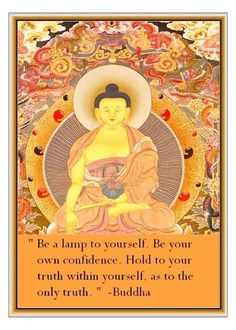 Buddha's parting instructions