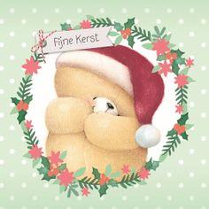 Forever Friends kaart - een-lieve-kerstgroet