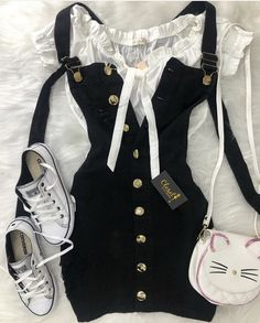 Girly Outfits – Page 1915544520 – Lady Dress Designs Teen Fashion Outfits, Cute Fashion, Outfits For Teens, Girl Fashion, Girl Outfits, Cute Casual Outfits, Cute Summer Outfits, Stylish Outfits, Vetement Fashion
