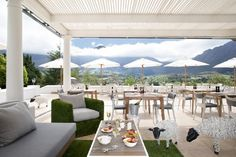 The Mont Rochelle Hotel is in the picturesque Franschhoek valley of the Cape. They offer luxury accommodation in a tranquil mountain and vineyard setting. This five-star hotel is a spectacular destination for guests who peaceful leisure in a natural Silvester Trip, Clifton Beach, Cape Town Hotels, Hotel Specials, Visit South Africa, Great Hotel, Luxury Accommodation, Outdoor Furniture Sets, Outdoor Decor
