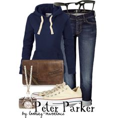 """""""peter parker"""" by marvel-ous on Polyvore"""
