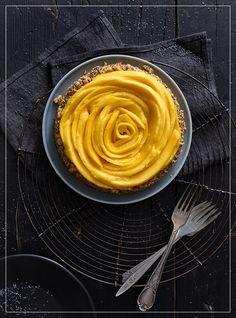Mango Rose Tarte Mango, Dessert, Cake Cookies, Sweet Tooth, Muffins, Bakery, Cheesecake, Heaven, Pie