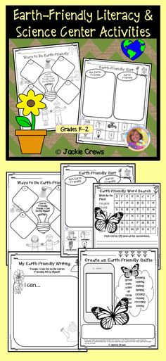 This Earth-Friendly product has six pages of usable no prep material that could be used for five different learning stations or one station a day for a five-day week. The activities are centered around the Earth Day theme. It is a mix and match product, so the pages do not have to used in any particular sequence.