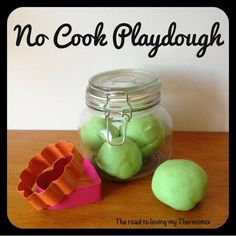 The road to loving my Thermomix: No Cook Playdough Cooked Playdough, Twin Cake Smash, Cake Smash Photos, Quirky Cooking, Gifts For Cooks, Recipe From Scratch, Everyday Food, Sweet Recipes, Soaps