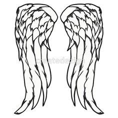 Daryl Dixon Angel Wings - The Walking Dead