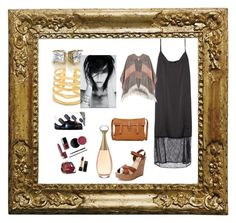 """""""Untitled #50"""" by snowfox15 on Polyvore featuring Schutz, Lucky Brand, Stella & Dot and Sonam Life"""
