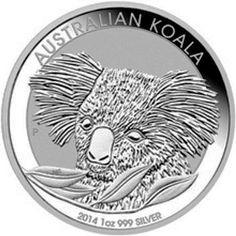 Australia 2016 Koala Bear Walking Eucalyptus Tree $1 Pure Silver Dollar in Box