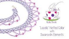 netted bead chocker - YouTube