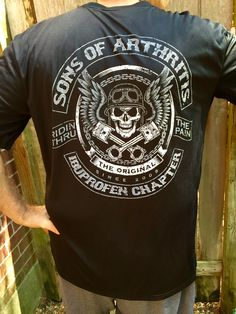 f7fe5e63 Unique Sons Of Arthritis novelty biker apparel, gifts and funny motorcycle t -shirts for the old farts. Check out our motorcycle chapters today!