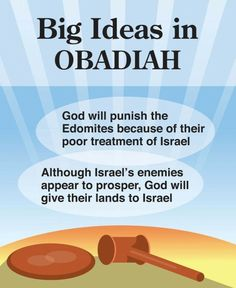 Obadiah- Big Ideas in Obadiah