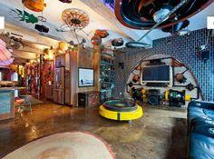 Retro-Industrial Steampunk Loft