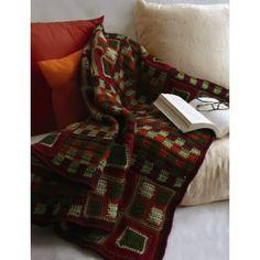 Squares Blanket to Crochet | Crochet | Free Pattern | Yarnspirations