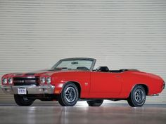 1970 Chevelle SS 454 PRO LS6 Convertible This was my first car, it had a top thou. I prefer this one thou, someday!