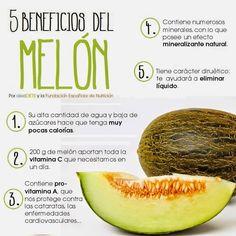 Beneficios para la salud del melón