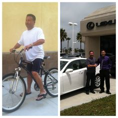 Before and After. Congrats Jon, for earning his Lexus bonus from Nerium!