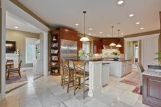 22320 North Greenmeadow Drive, Kildeer, IL, 60047 — Point2 Double Island Kitchen, Buffalo Grove, Lake Zurich, Custom Carpet, Built In Grill, Large Bedroom, Wine Storage, Estate Homes, Custom Homes