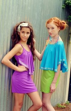 fashion for tween girls - Google Search Girly Girl Outfits, Cute Little Girl Dresses, Cute Young Girl, Teenage Girl Outfits, Beautiful Little Girls, Kids Outfits, Preteen Girls Fashion, Young Girl Fashion, Tween Girls