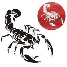 1 Шт. 30 см Милые 3D Скорпион Наклейки стайлинга автомобилей этикеты винила наклейка для Автомобилей Аксессуары украшения QC29(China (Mainland))