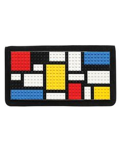 Spotted in the hands of it-girls and celebrities worldwide, Les Petits Joueurs designer Mariasole Cecchi creates eye-catching pieces Mondrian Dress, Mondrian Art, Pocket Books, Weird Fashion, Cool Lego, Luxury Shop, Clutch Bag, Really Cool Stuff, Purses And Bags