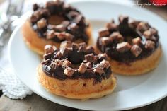 OMG!  Reese's PB Cup Donuts!