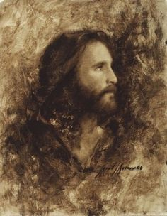 Jesus, by Jared Barnes God and Jesus Christ Catholic Art, Religious Art, Jesus E Maria, Pictures Of Jesus Christ, Images Of Christ, Jesus Painting, Saint Esprit, Jesus Christus, Jesus Face