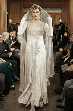 Um, I kind of want to wear this to my own wedding. Nilofer Shahid