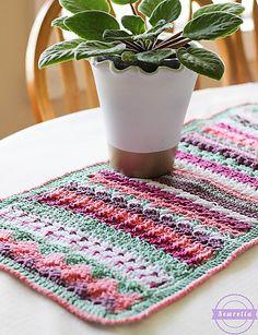 Ravelry: Betty's 20 Stitch Table Runner pattern by Ashleigh Kiser