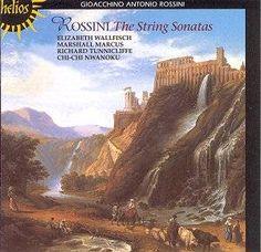 Rossini: String Sonata No 3: Finale has a fun double bass solo