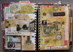 Art journal - Road book