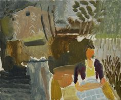 Punting, Suffolk, 1938 by Ivon Hitchens © The Estate of Ivon Hitchens. All rights reserved. DACS/Artimage 2017. Photo: Jonathan Clark & Co