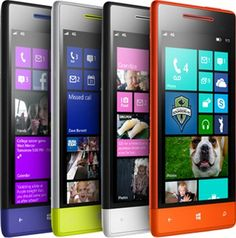 The Windows Phone 8X and 8S by HTC