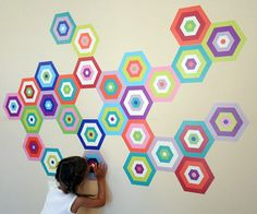 modern, playful, sophisticated for rooms young and old! #popandlolli #pinparty