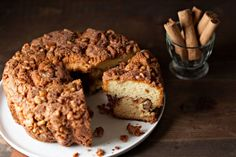 Ashkenazic coffee cake, most often made with sour cream, is a dish with a history going back to 17th century Eastern Europe. Recipes for this pastry h ...