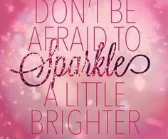 Onli Because Life is Meant to Sparkle