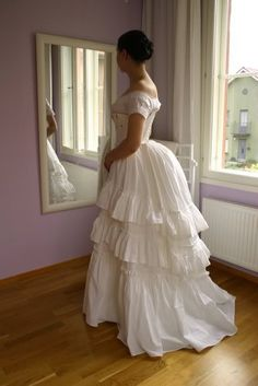 Image result for 1870s girl's party dress