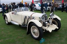 Mercedes-Benz SS Barker Roadster - 2012 Pebble Beach Concours d'Elegance