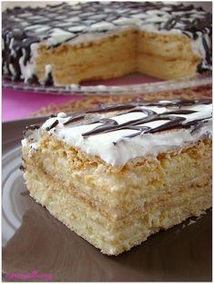 Meşhur rus pastası Medovik - rumma - rumma