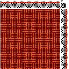 aztec looking weaving draft 4 shaft - Google Search