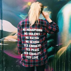 The no/yes flannel is guaranteed to be a conversation starter wherever you go, and that's what I love about it. Tag a friend who would rock it and get yours on JACVANEK.COM!! Oh and pssst, order before Dec 17th to get your order by Christmas! ✨